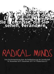 radical minds postkarte