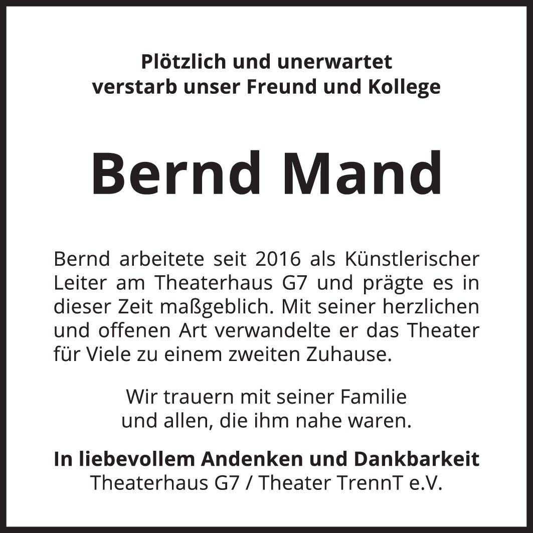 Traueranzeige.Theaterhaus.BerndMand-MM-2